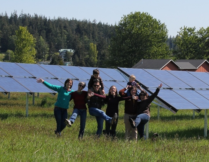 Community solar rocks!